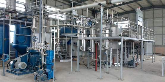 Complete Solvent Extraction Plant