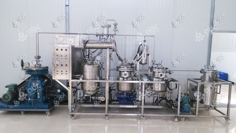 mini peppermint oil extraction machine