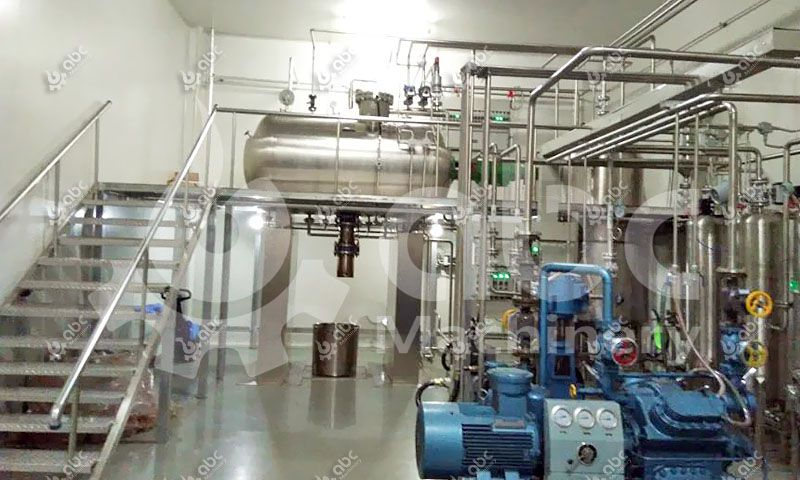 2TPD Ganoderma Spore Oil Extracting Machine