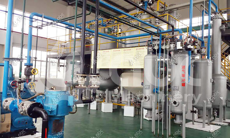 50TPD Oil Production Line of  Solvent Extraction from Tiger Nut / Mandulapalka