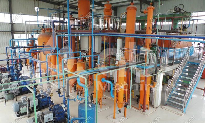 50TPD Tea Oil Solvent Extracting Plant