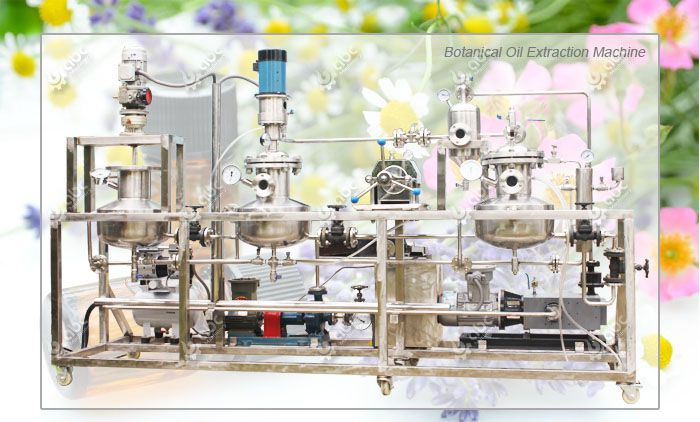 botanical oil extraction machine for essential oil production
