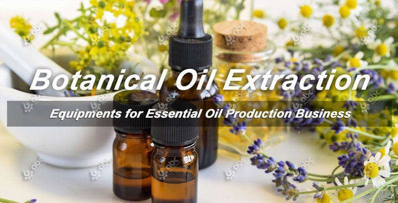 botanical oil extraction process and technology