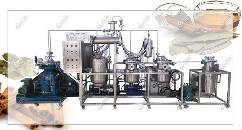factory price cinnamon oil extracting machine for sales