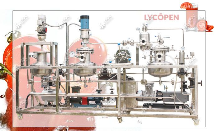 lycopene extraction machine for sale low cost
