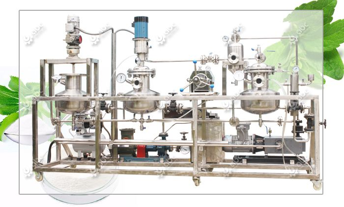 mini stevia extraction machinery at factory price