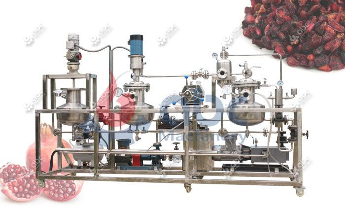 mini scale pomegranate seed extraction machine