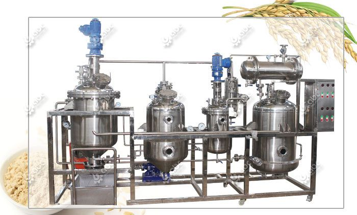 rice bran protein extraction machine for sales at factory price