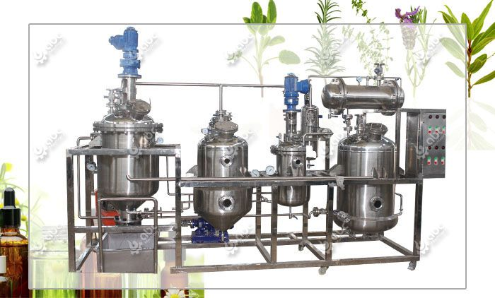 small essential oil extraction equipment for sales