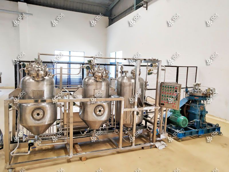 low temperature walnut oil extraction machine
